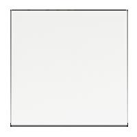 Клавиша F100 (пластик белый глянцевый)