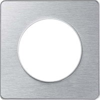 Рамка Odace (полированный алюминий/алюминий)