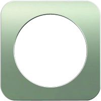 Рамка R1 (нержавеющая сталь/антрацит)