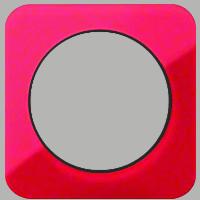 Рамка R1 (акрил красный/черный)