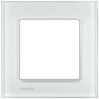 Рамка Delta Miro Стекло (стекло/белое)