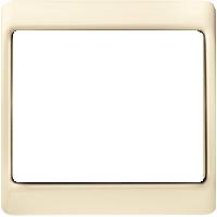 Рамка Arsys (пластик кремовый (белый с блеском))