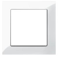 Рамка M-Pure (белый глянец)
