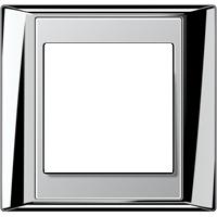 Рамка A Plus (пластик хром-алюминий)