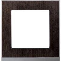 Рамка M-Pure Décor (венге/алюминий)