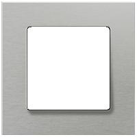Рамка Delta Miro Металл (алюминий металлик)