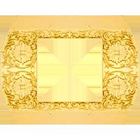 Рамка Sanremo (блестящее золото)