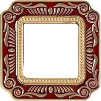 Рамка Smalto Italiano Firenze (рубиново-красный)
