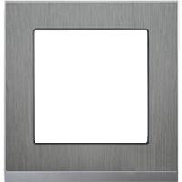 Рамка M-Pure Décor (нержавеющая сталь/алюминий)