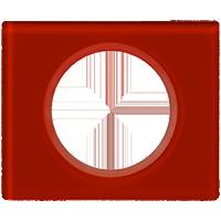 Рамка Celiane Стекло/Фарфор (смальта кармин)