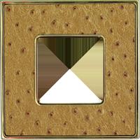 Рамка Vintage Tapestry (alienagold/блестящее золото)