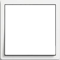 Рамка F100 (пластик белый глянцевый)
