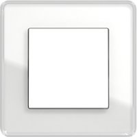 Рамка Esprit (стекло белое glass c)