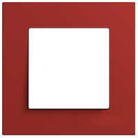 Рамка Esprit Linoleum-Multiplex (красный)