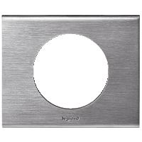 Рамка Celiane Металл (фактурная сталь)