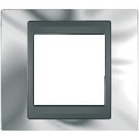Рамка Unica TOP (хром/графит)
