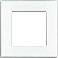 Рамка Carat (белое стекло)