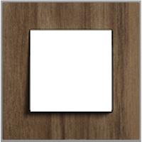 Рамка Esprit (алюминий шпон орехового дерева)