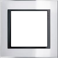 Рамка Event Clear (пластик прозрачный белый-антрацит)