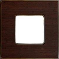 Рамка Vintage Wood (венге/блестящее золото)