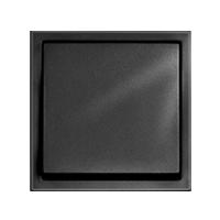 Клавиша Aura Glass (пластик антрацит)