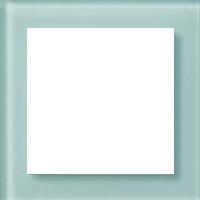 Рамка Aura Glass (зеленое матовое стекло)