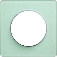 Рамка Odace (зеленый лед/алюминий)