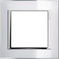 Рамка Event Clear (пластик прозрачный белый-глянц.белый)