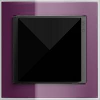 Рамка Event Clear (пластик прозрачный темно-фиолетовый-антрацит)