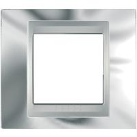 Рамка Unica TOP (хром/алюминий)