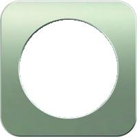 Рамка R1 (нержавеющая сталь/полярная белизна)