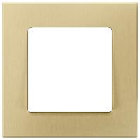 Рамка Delta Miro Металл (оксидный желтый)
