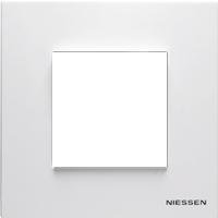 Рамка Niessen Zenit (белый)