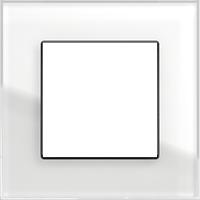 Рамка Esprit (белое стекло)