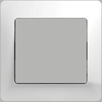 Рамка Glossa (белый)