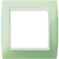 Рамка Simon 82 (пастель зеленая)