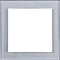 Рамка Aura Glass (рефленое прозрачное стекло)