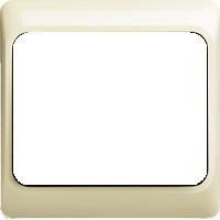 Рамка Alpha Exclusive (пластик кремовый глянец)