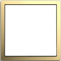 Рамка F100 (пластик под латунь)