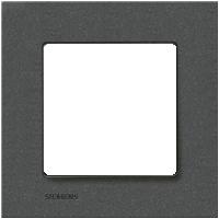 Рамка Delta Miro (черный металлик)