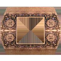 Рамка Sanremo (состаренная медь)
