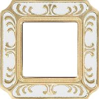 Рамка Smalto Italiano Siena (жемчужно-белый)
