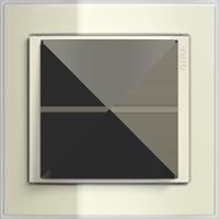 Рамка Event Clear (пластик прозрачный песочный-крем.глянец)