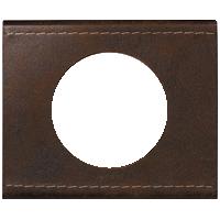 Рамка Celiane Кожа/Текстиль (коричневый)