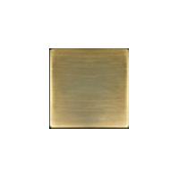 Клавиша Crystal De Luxe (бронза матовая)