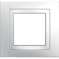 Рамка Unica (пластик белый)