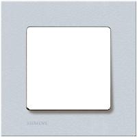 Рамка Delta Miro (алюминий металлик)