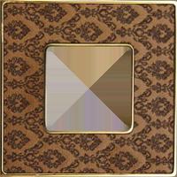 Рамка Vintage Tapestry (decorbrass/блестящее золото)