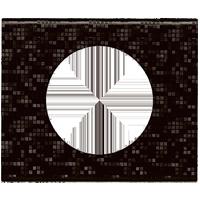 Рамка Celiane Кожа/Текстиль (блэк пиксел)