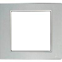 Рамка B.3 (алюминий/белый)